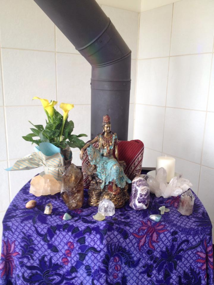 Sage Spirit Reiki Alter