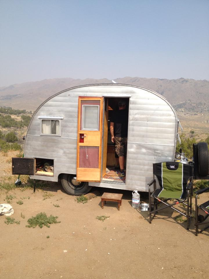 Camping, Vintage Style at OdaBe