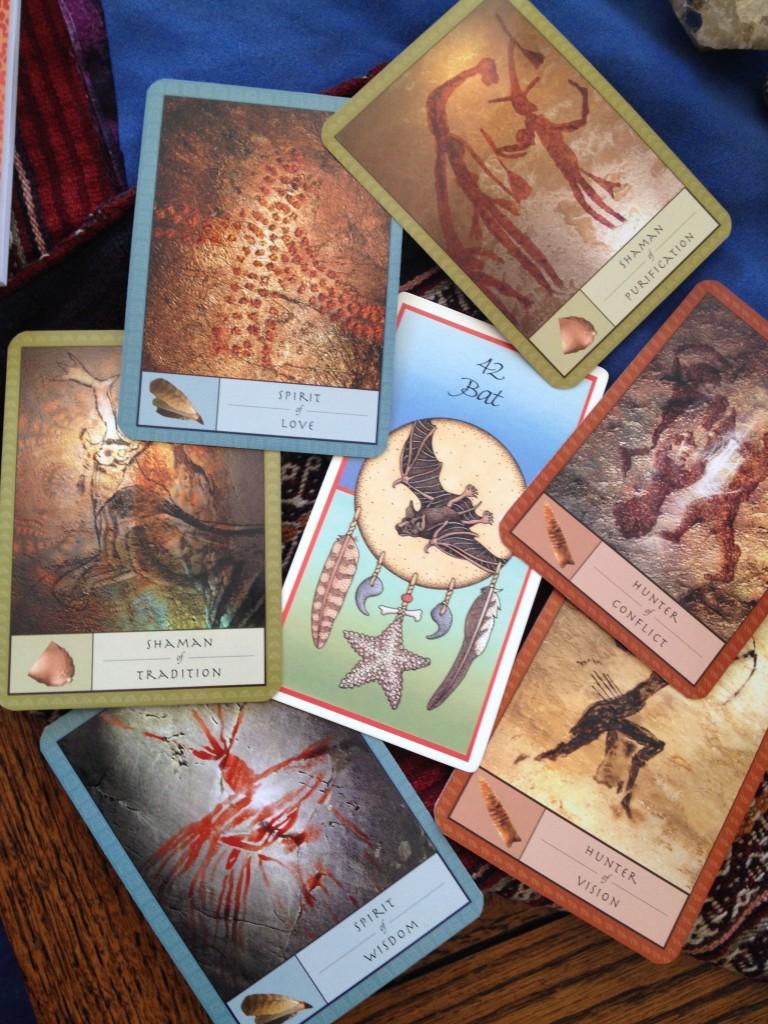 Medicine Cards (Sams & Carson) and The Shaman's Dream Oracle (Matthews & Kinghan)