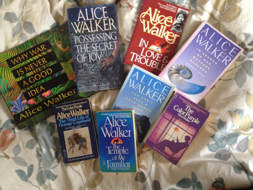 So many wonderful Alice Walker adventures I've taken on my literary path.