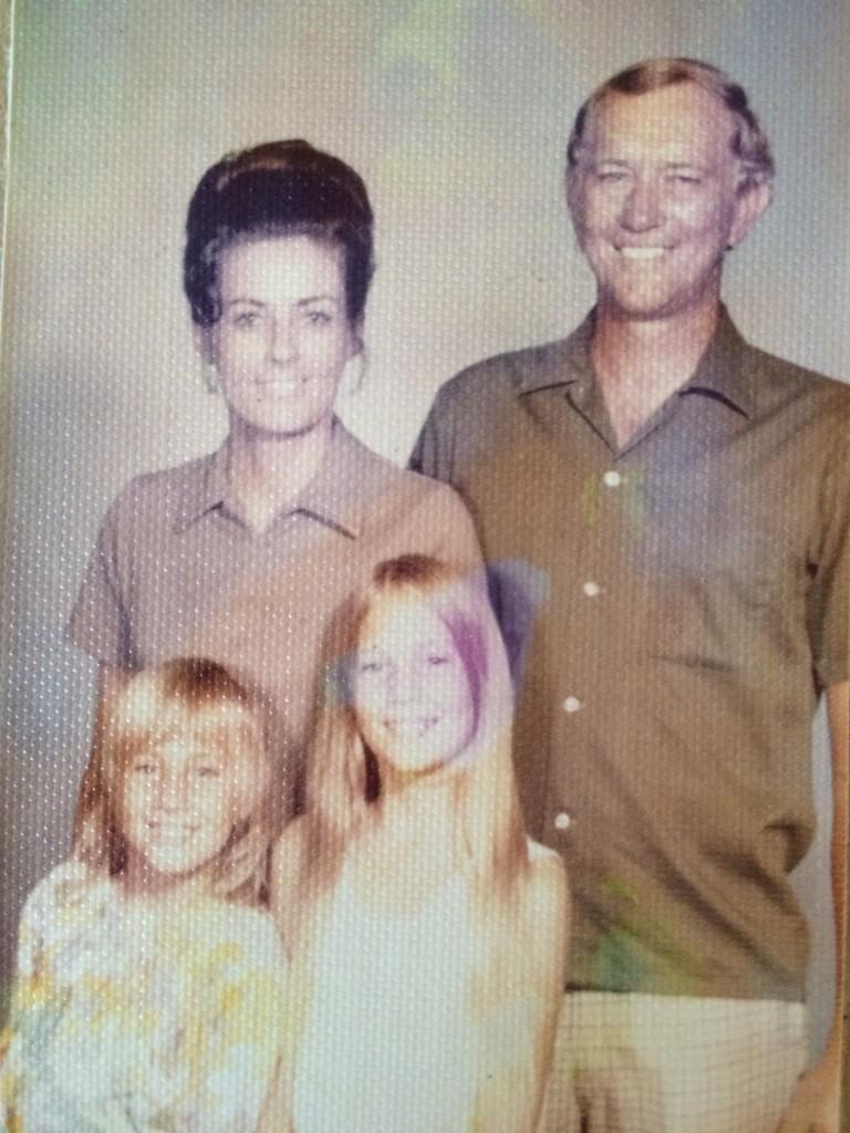 Mom, Dad, Debi & Me, around 1972?