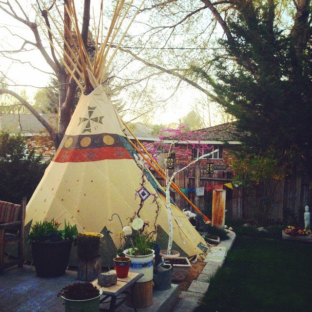 Susie's tipi