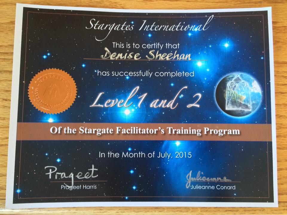Stargate Certificate